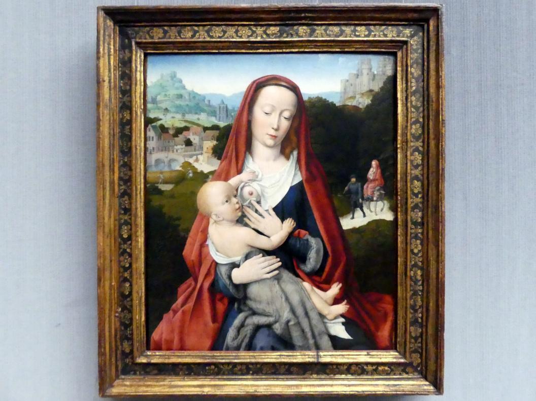 Gerard David: Maria mit dem Kind, um 1490, Bild 1/2