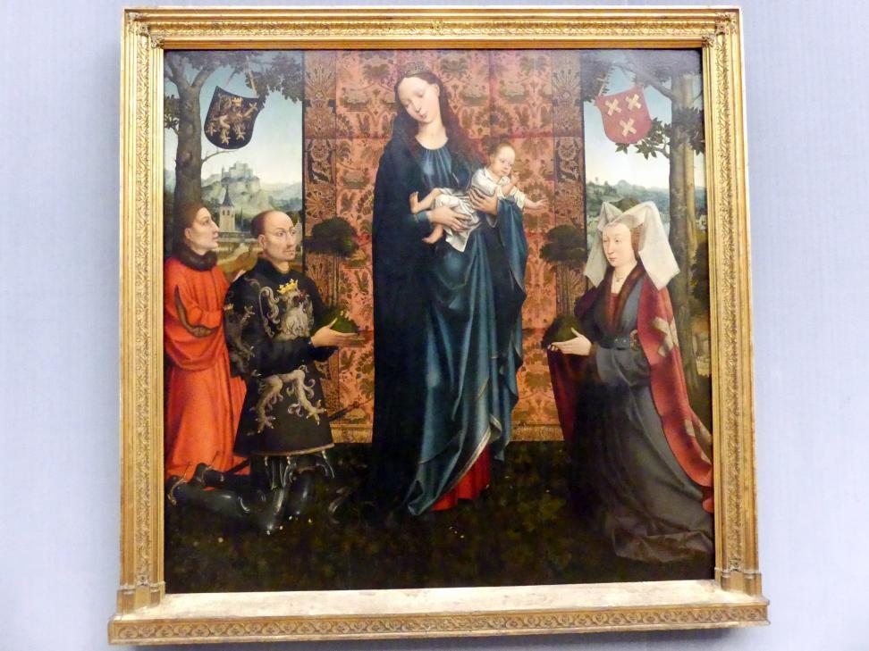 Goossen (Goswin) van der Weyden: Maria mit dem Kind und Stiftern, um 1511 - 1515