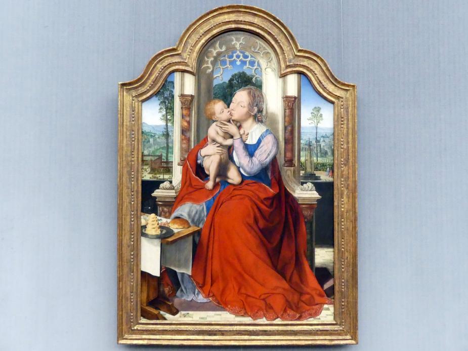 Quinten Massys: Maria mit dem Kind und Stiftern, Um 1525