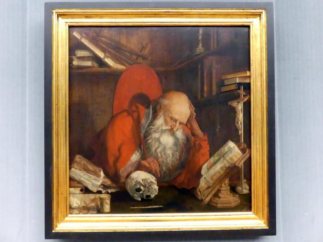 Marinus van Reymerswaele: Der hl. Hieronymus in seiner Zelle, um 1545