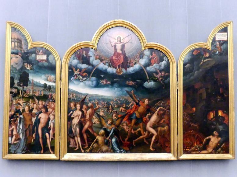 Jean (Jehan) Bellegambe: Triptychon mit dem Jüngsten Gericht, um 1520 - 1525