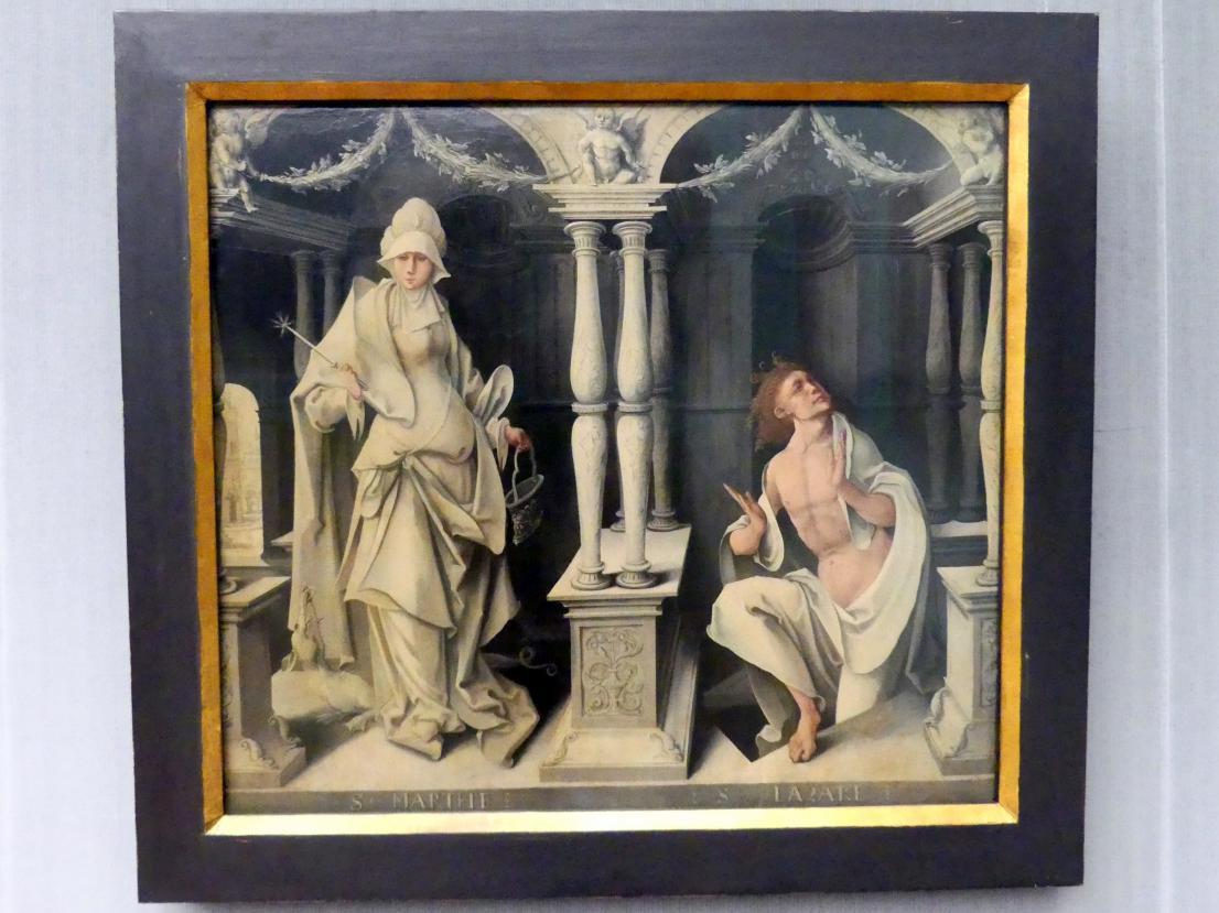 Die Heiligen Martha und Lazarus, Um 1520
