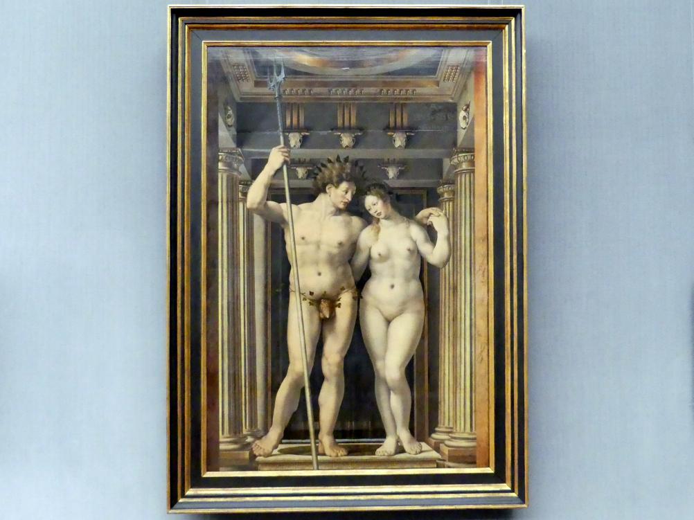 Jan Gossaert, genannt Mabuse: Neptun und Amphitrite, 1516