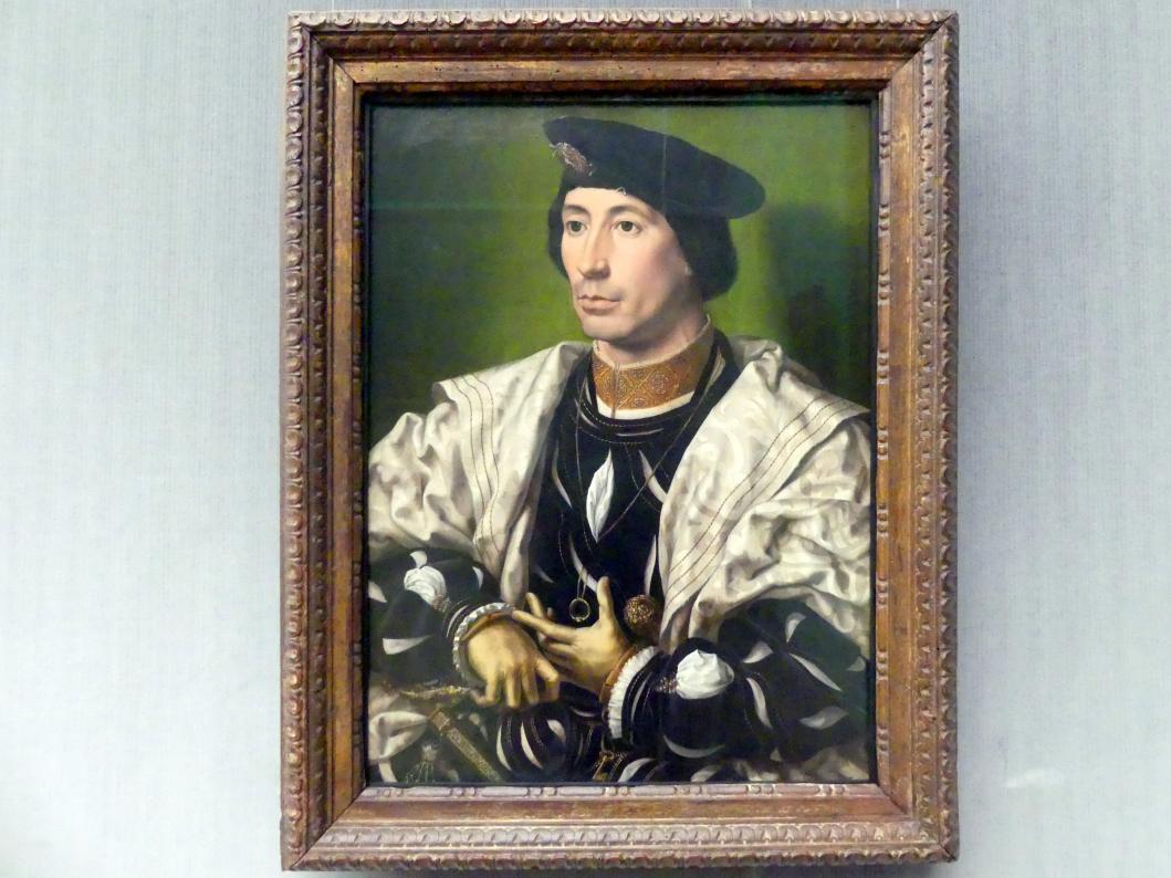 Jan Gossaert, genannt Mabuse: Bildnis eines Edelmannes, um 1530