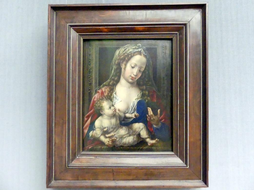 Jan Gossaert, genannt Mabuse: Maria mit dem Kind, Um 1530