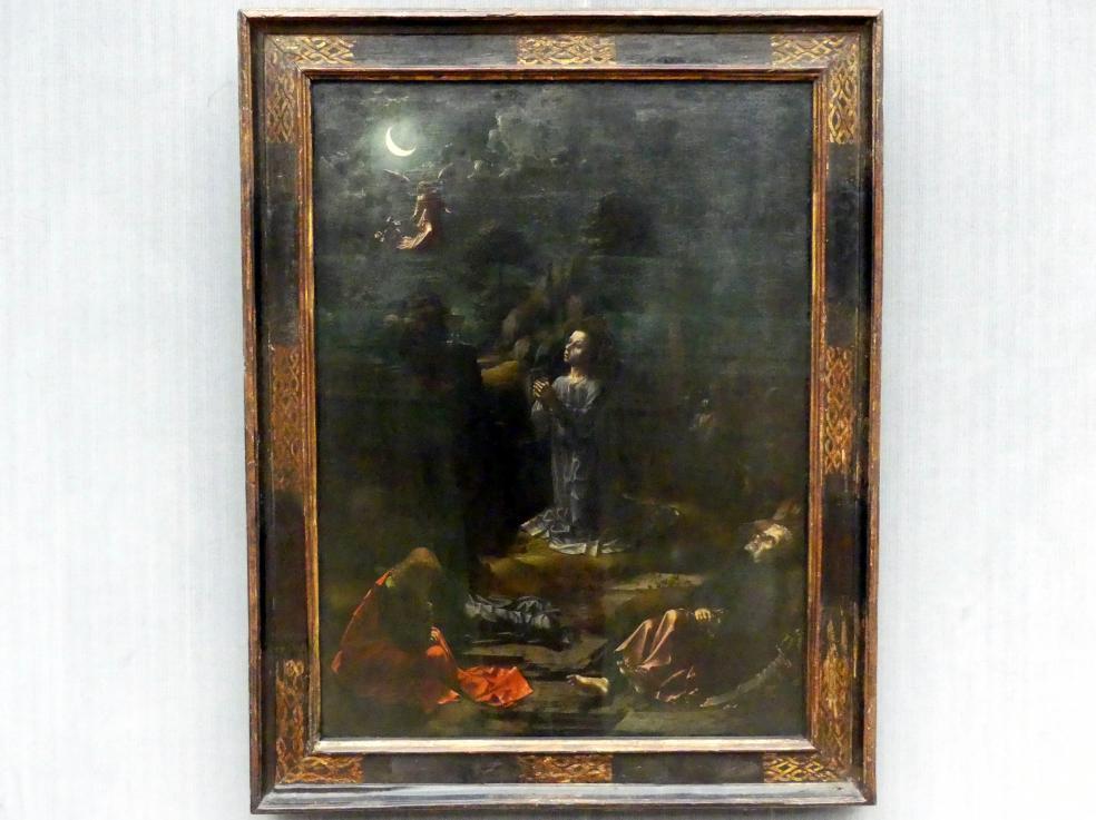 Jan Gossaert, genannt Mabuse: Christus am Ölberg, um 1509 - 1510