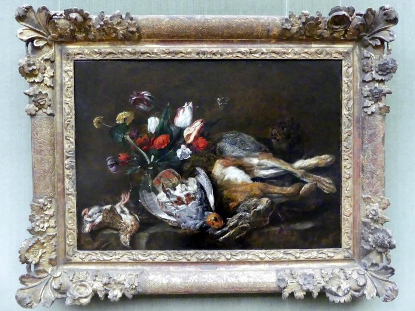 Jan Fyt: Jagdstillleben mit Tulpen, 1652