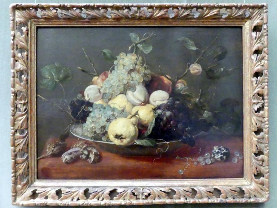 Frans Snyders: Stillleben mit Früchten in einer Porzellanschale, Undatiert