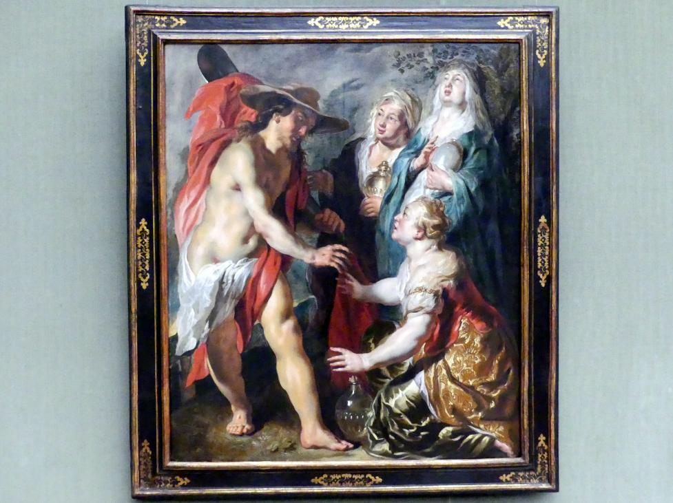 Jacob Jordaens: Christus als Gärtner erscheint den drei Marien, um 1616, Bild 1/2