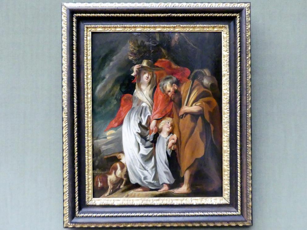 Jacob Jordaens: Die Rückkehr der Heiligen Familie aus Ägypten, um 1616