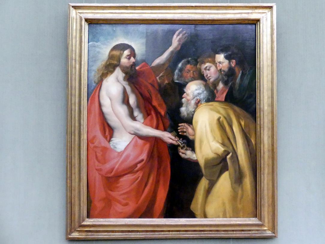 Peter Paul Rubens: Christus übergibt dem hl. Petrus die Himmelsschlüssel, um 1613 - 1615