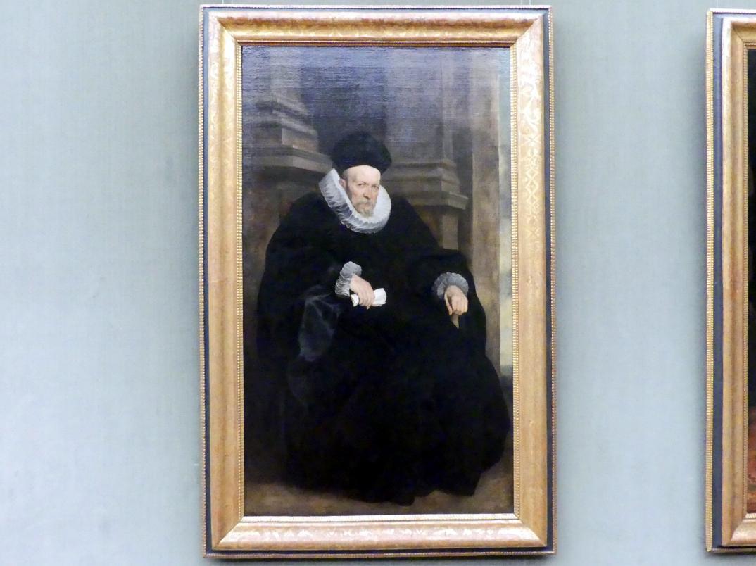 Anthonis (Anton) van Dyck: Bildnis eines genuesischen Herrn, um 1621 - 1623