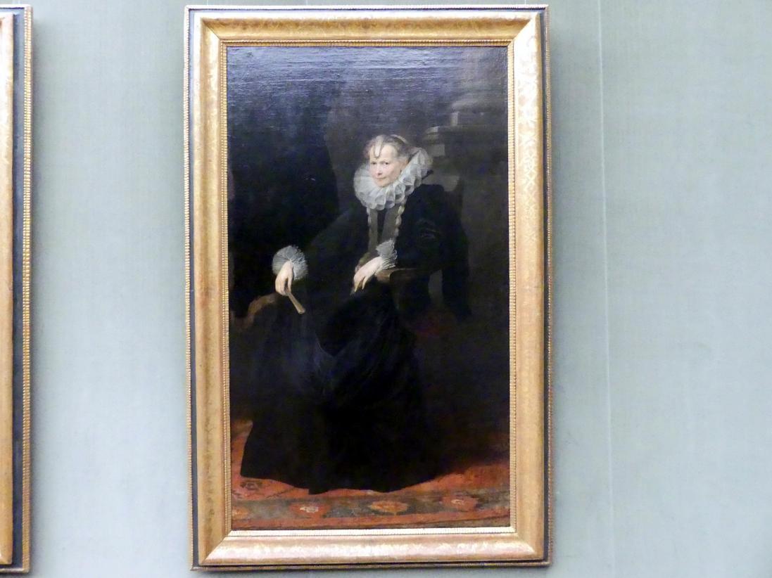 Anthonis (Anton) van Dyck: Bildnis einer genuesischen Dame, um 1621 - 1623
