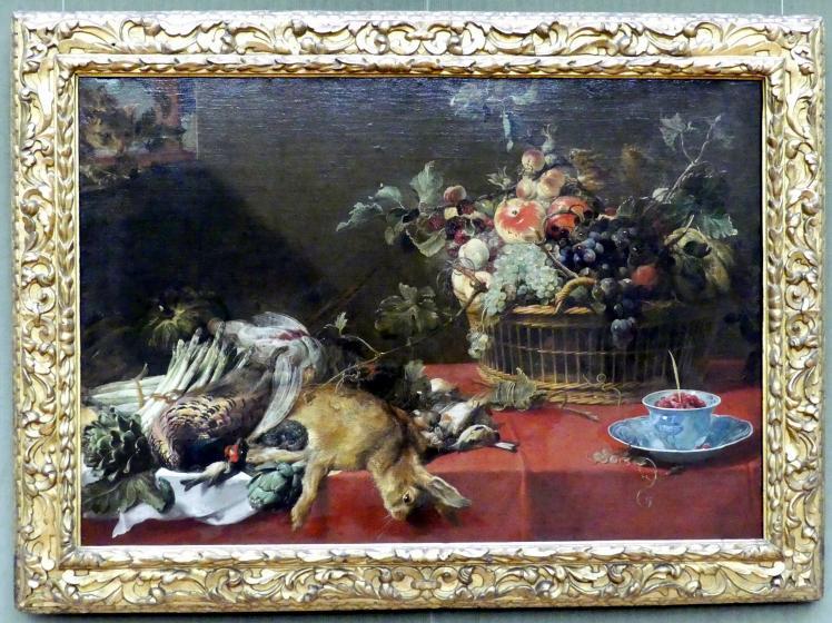 Frans Snyders: Stillleben mit Jagdbeute, Früchtekorb und Gemüse, Undatiert
