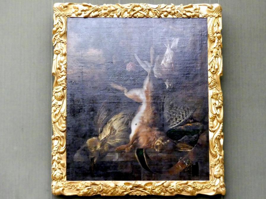Jan Weenix: Stillleben mit totem Hasen und Vögeln, Undatiert