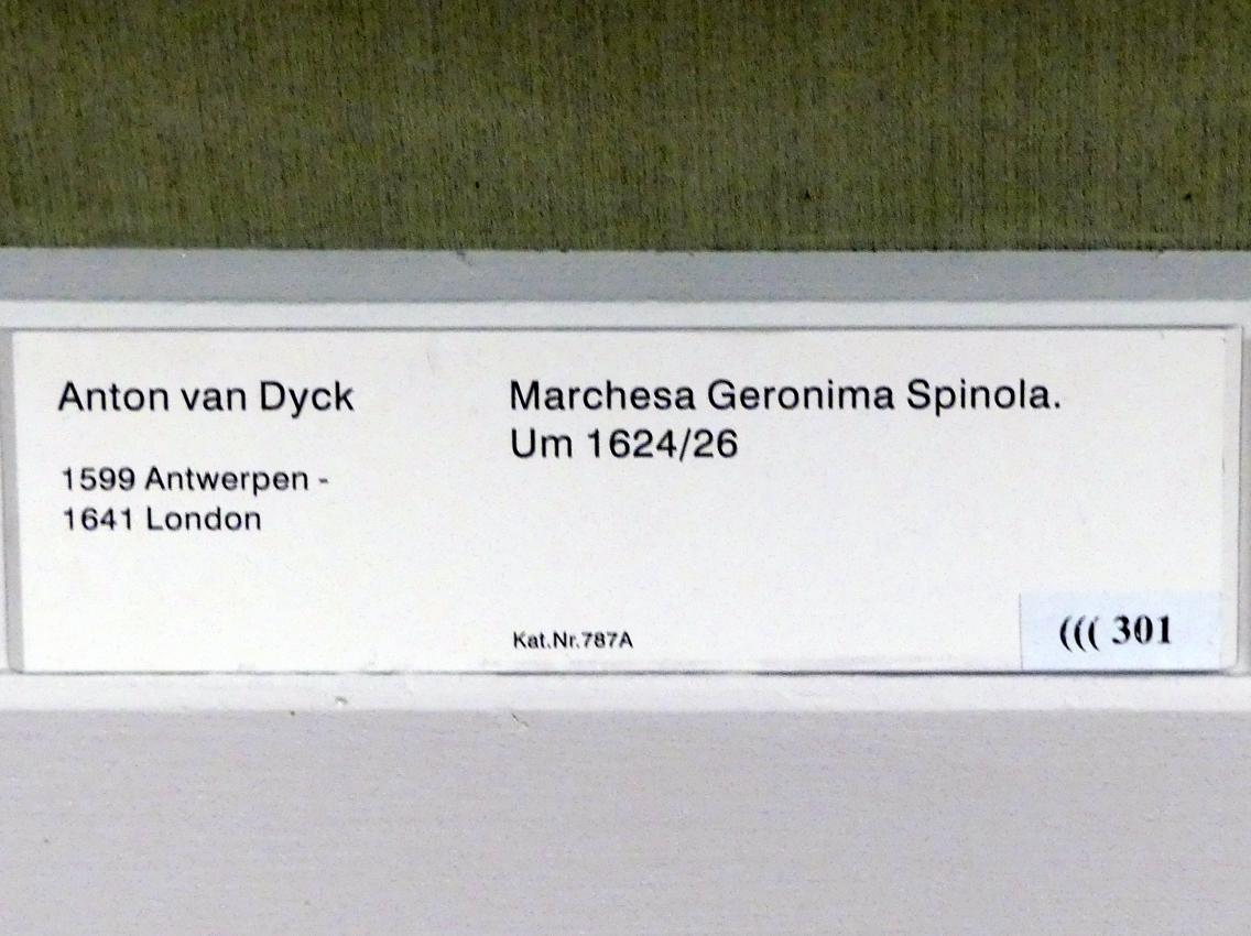 Anthonis (Anton) van Dyck: Marchesa Geronima Spinola, 1624 - 1626