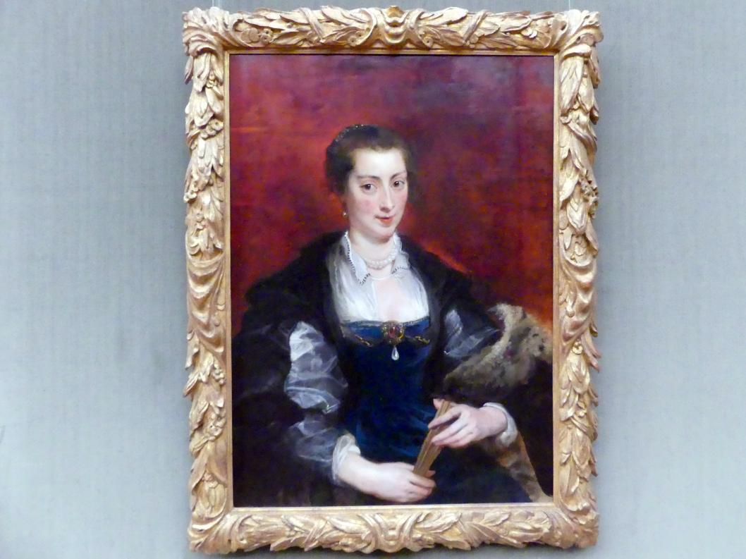 Peter Paul Rubens: Bildnis einer Frau, um 1637