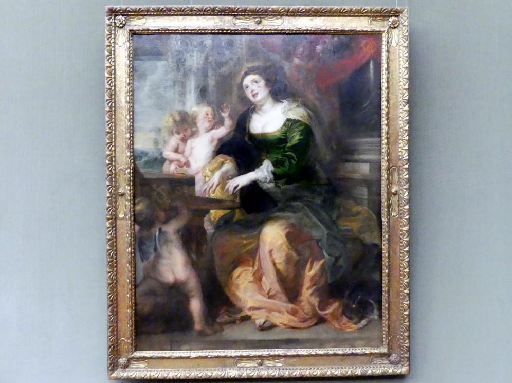 Peter Paul Rubens: Die hl. Cäcilie, um 1639 - 1640