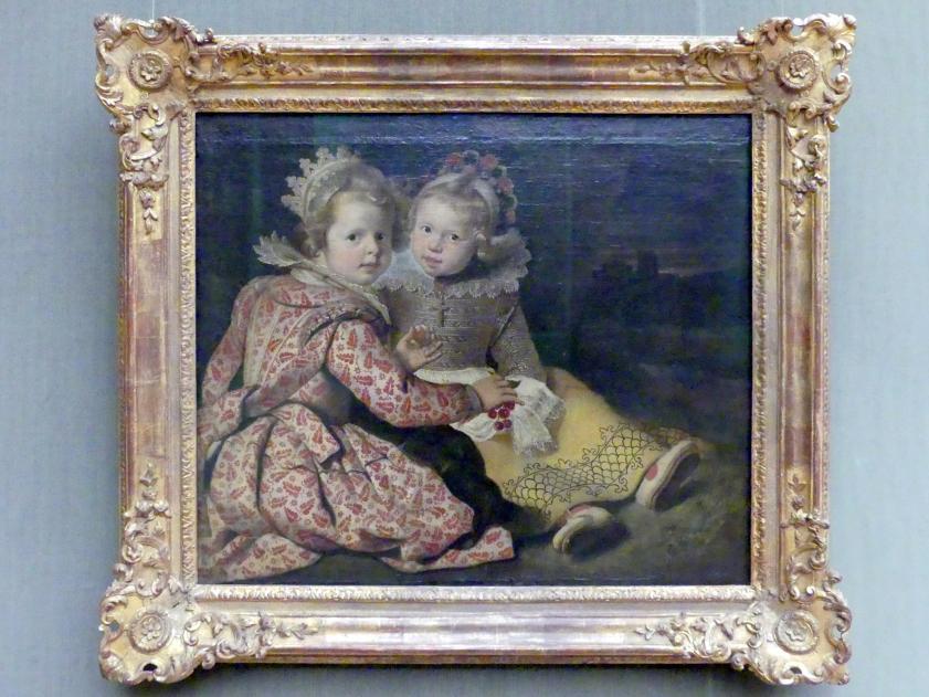 Cornelis de Vos: Magdalena (geboren 1618) und Jan Baptist de Vos (geboren 1619), die Kinder des Malers, um 1621 - 1622