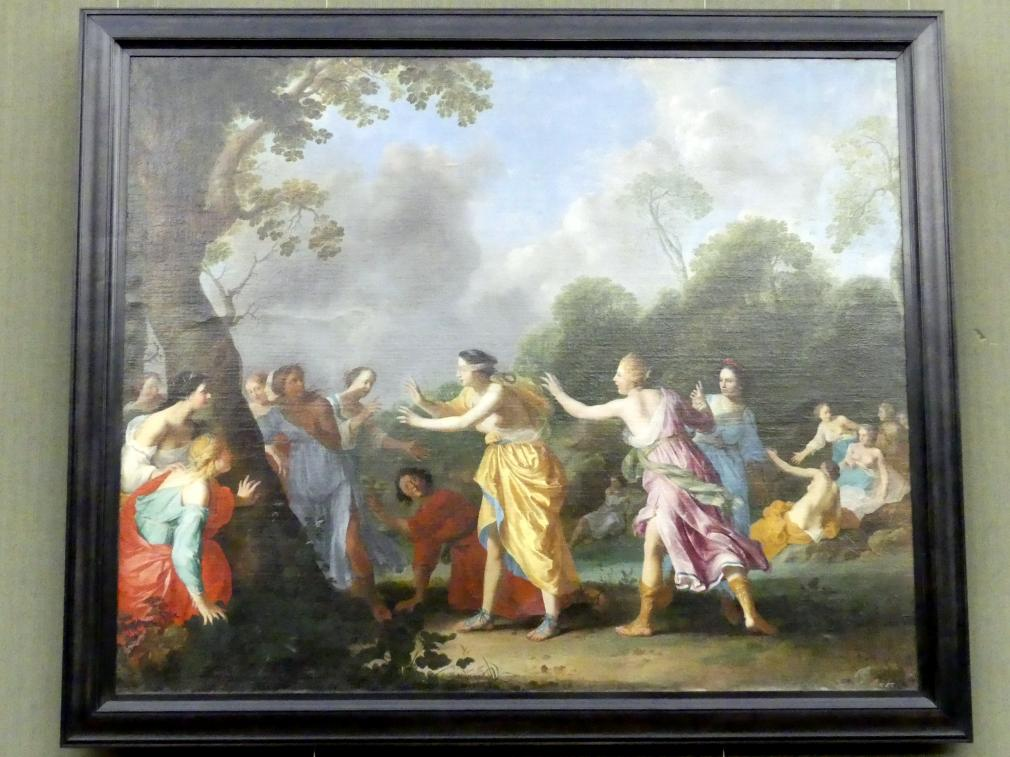 Dirck van der Lisse: Amaryllis als Blindekuh, um 1635