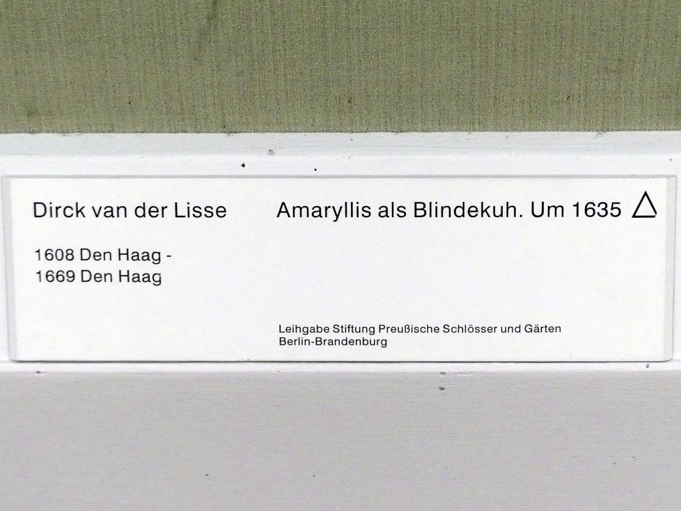 Dirck van der Lisse: Amaryllis als Blindekuh, um 1635, Bild 2/3