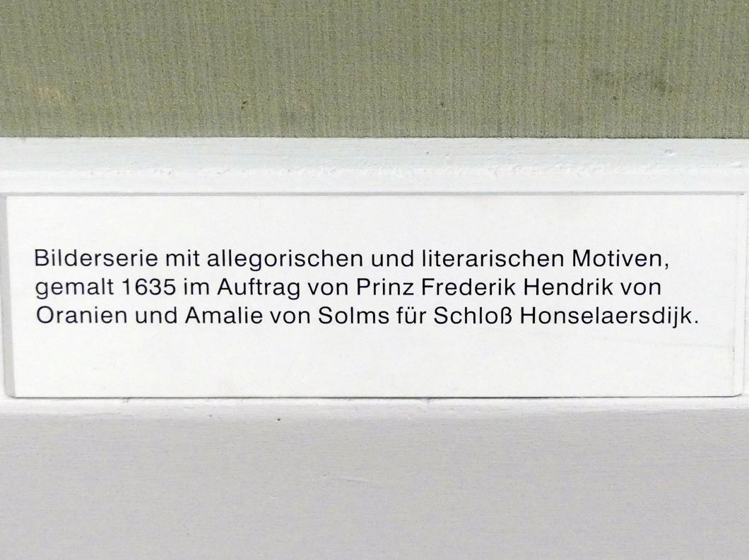 Dirck van der Lisse: Landschaft mit tanzenden Hirten, um 1635, Bild 3/3