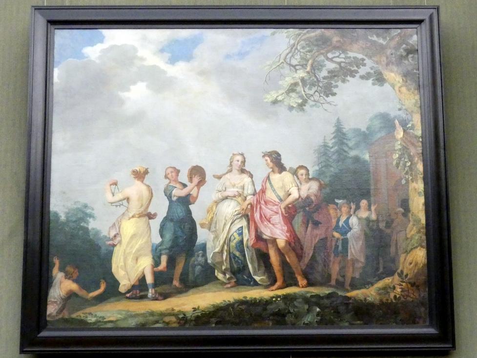 Abraham Bloemaert: Die Vermählung von Amaryllis und Mirtill, Undatiert