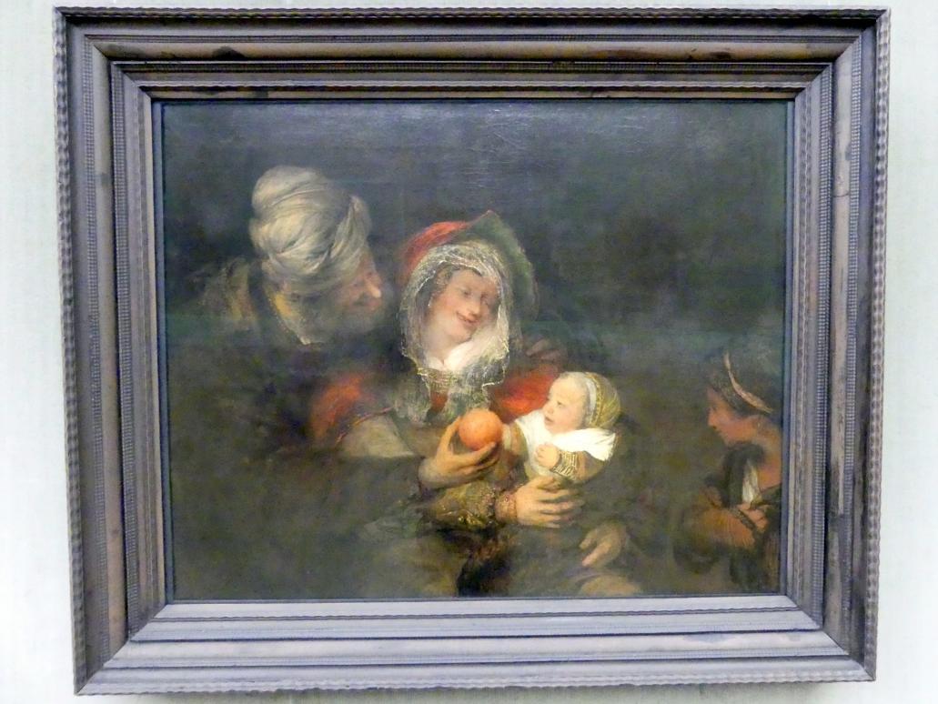 Aert de Gelder: Die Heilige Familie, Um 1680 - 1685