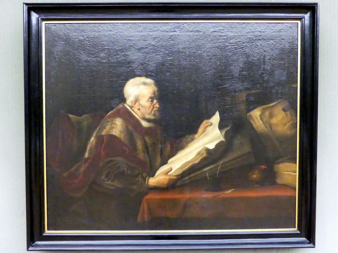 Salomon Koninck: Geistlicher im Studierzimmer, Undatiert
