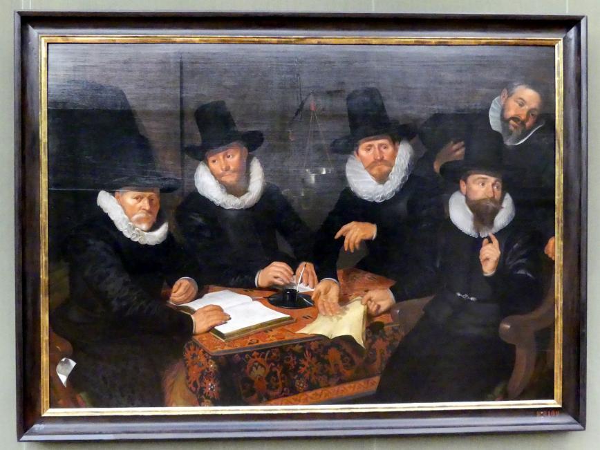 Werner Jacobsz. van den Valckert: Vier Regenten der Groot-Kramergild, 1622