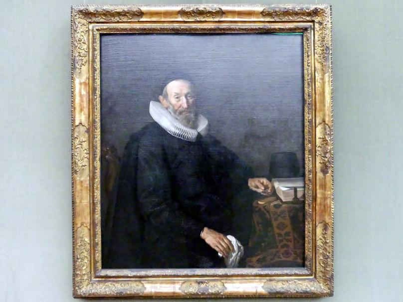 Jacob Adriaensz. Backer: Bildnis des Amsterdamer Kaufmannes François de Vroude (1567-1645), 1643