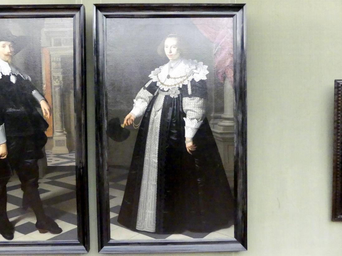 Nicolaes Eliasz. Pickenoy: Catharina Hooft (1618-1691), Ehefrau des Cornelis de Graeff, 1636