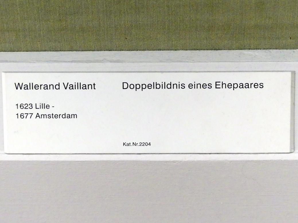 Wallerant Vaillant: Doppelbildnis eines Ehepaares, Undatiert, Bild 2/2