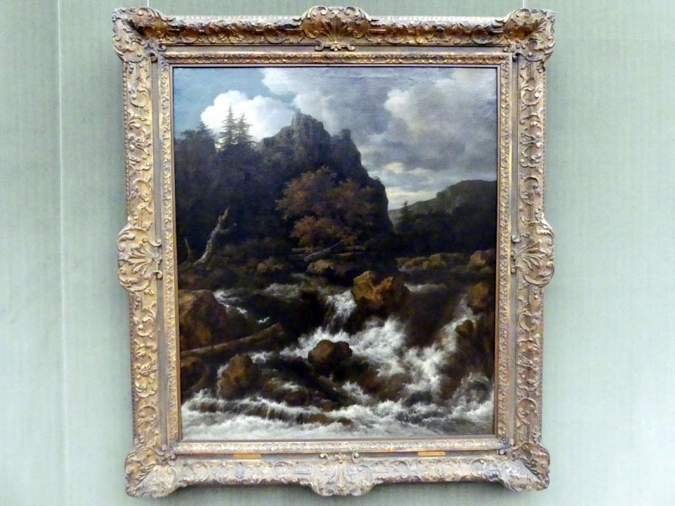Jacob van Ruisdael: Landschaft mit einem Wasserfall, Undatiert