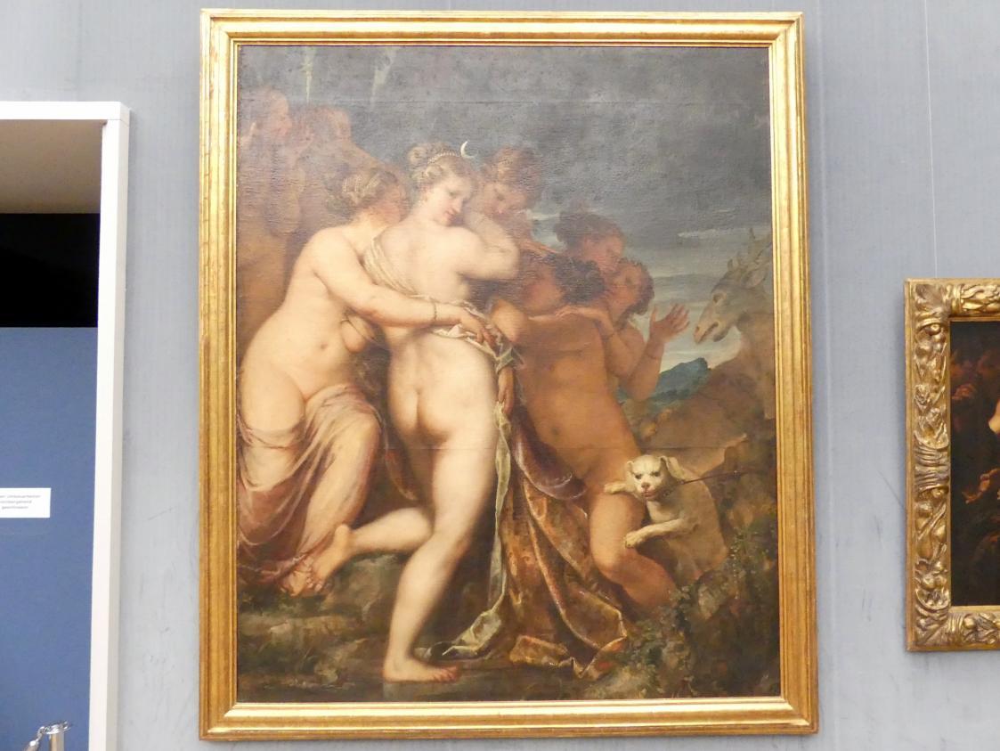 Pietro Liberi: Diana und Aktäon, Um 1660