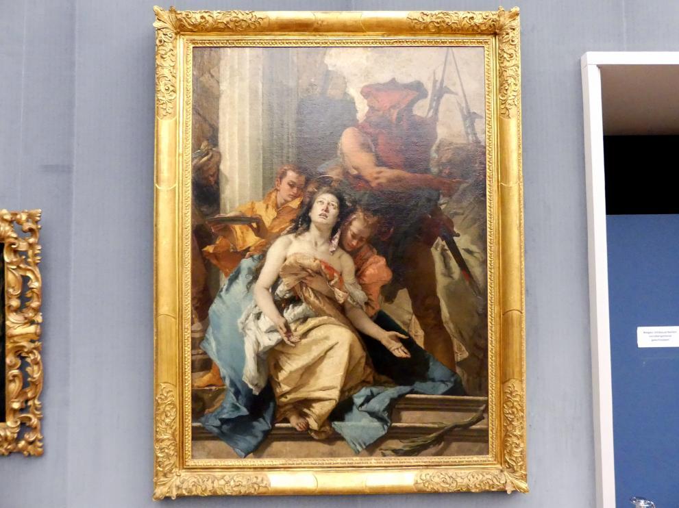 Giovanni Battista Tiepolo: Das Martyrium der hl. Agathe, Um 1755