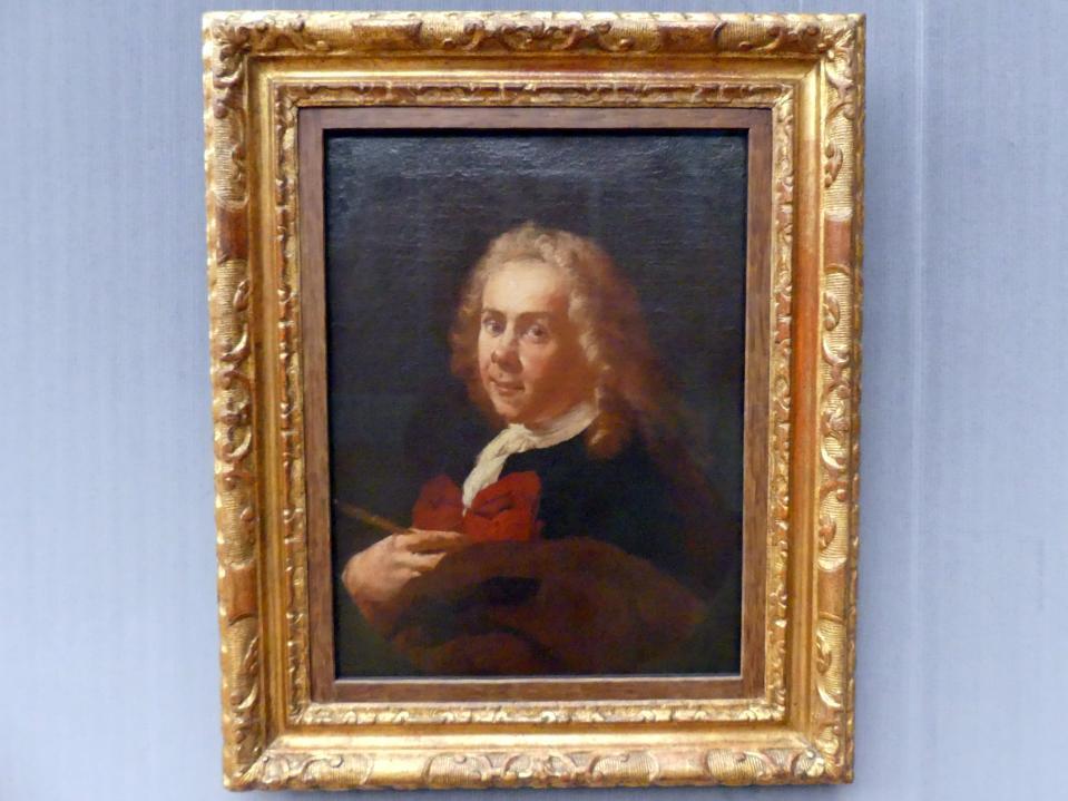 Francesco Capella (Daggiù): Bildnis eines Malers, um 1756 - 1758