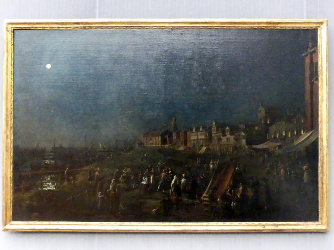 """Giovanni Antonio Canal (""""Canaletto""""): La Vigilia di S. Maria, Um 1758 - 1763"""