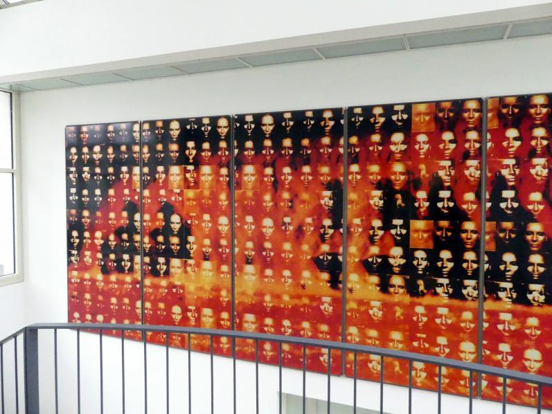 Katharina Sieverding: Kontinenttalkern XXXV, 1988 - 1993