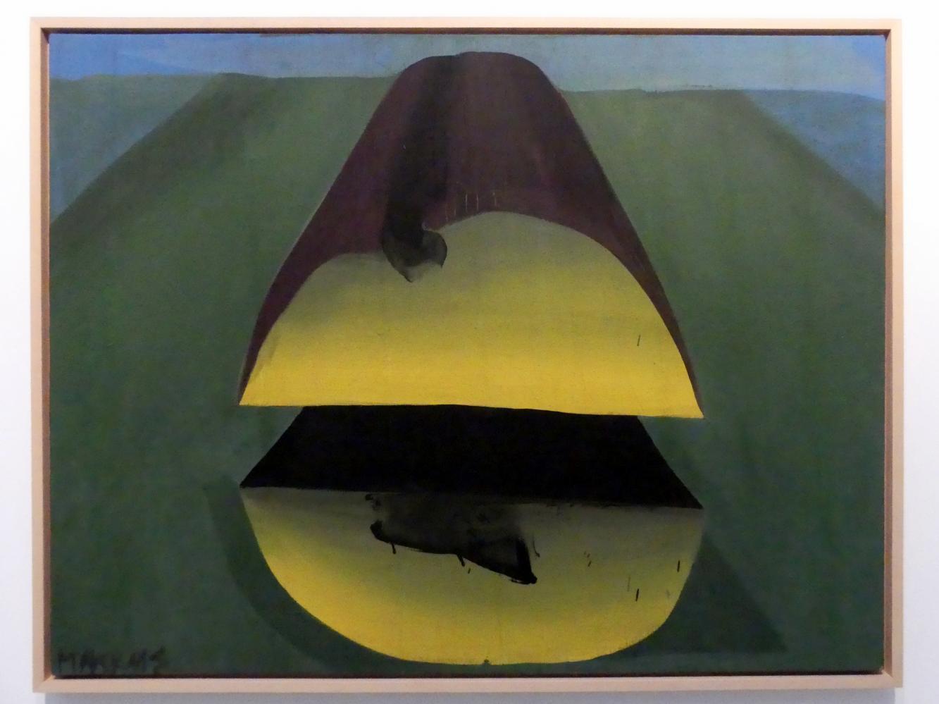 Markus Lüpertz: Baumstamm - dithyrambisch, 1966