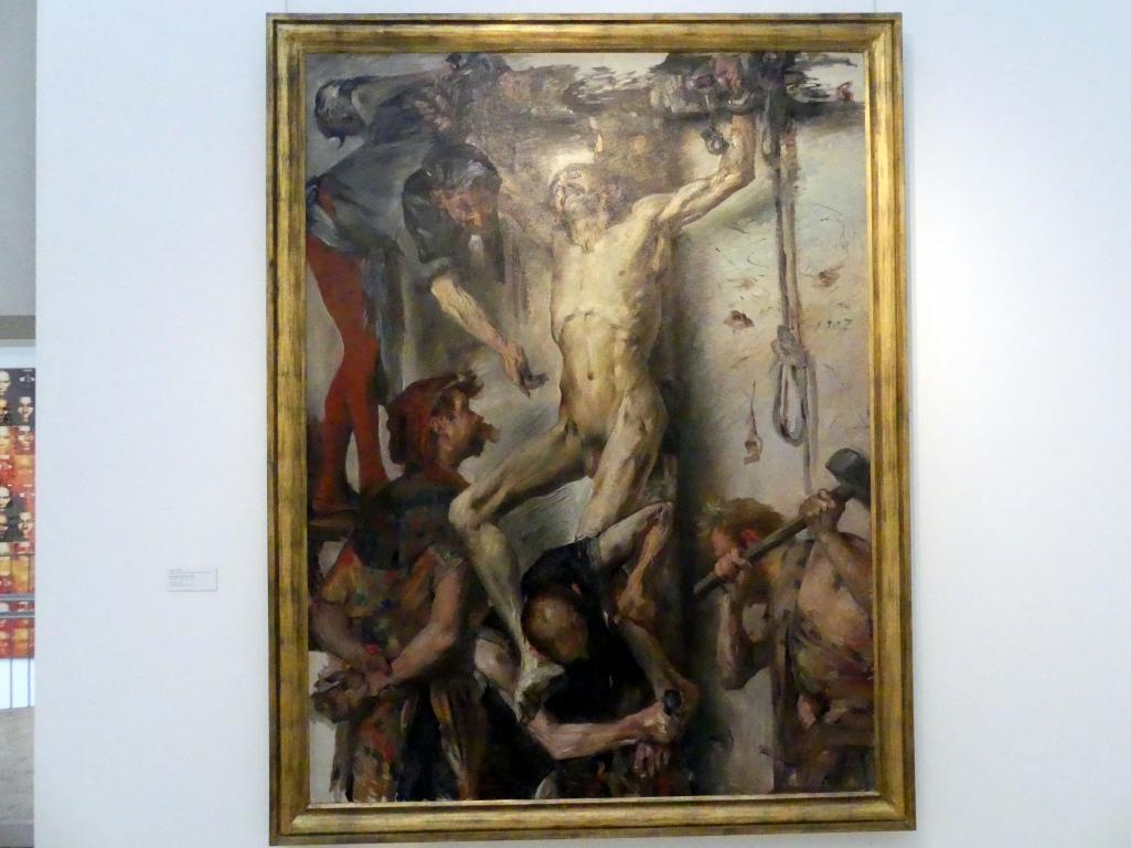 Lovis Corinth: Das große Martyrium, 1907