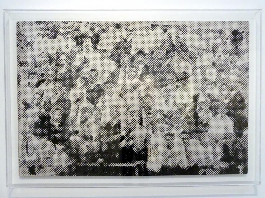 Sigmar Polke: Menschenmenge, 1966