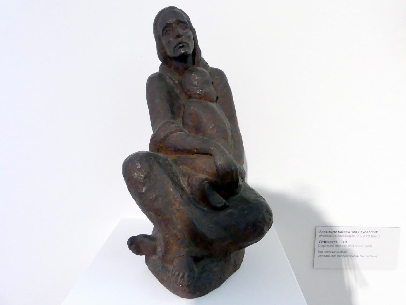Annemarie Suckow von Heydendorff: Vertriebene, 1949