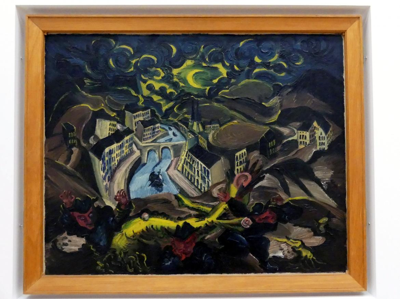 Ludwig Meidner: Mondsichellandschaft, 1916
