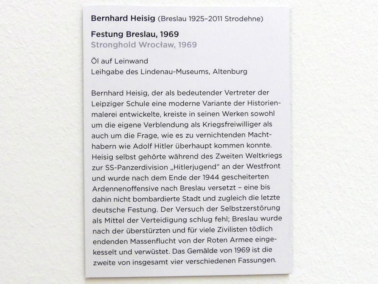 Bernhard Heisig: Festung Breslau, 1969, Bild 2/2