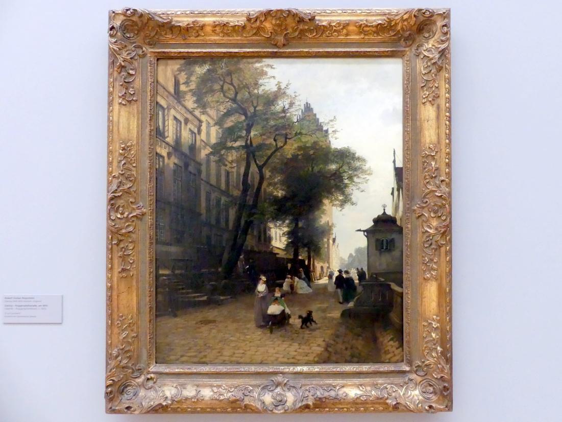 Robert Gustav Meyerheim: Danzig - Poggenpfuhlstraße, um 1870