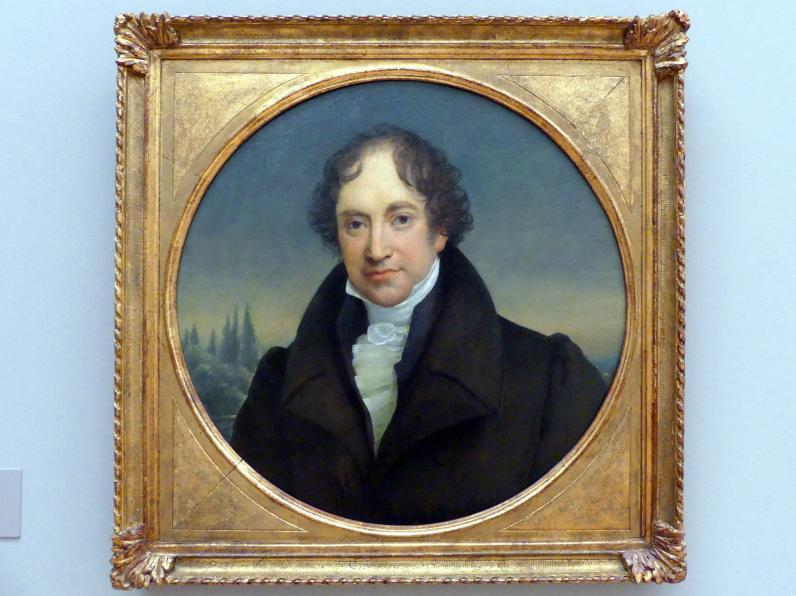 Johannes Eduard Wolff: Portrait des Königsberger Bankiers Marcus Warschauer, Um 1820