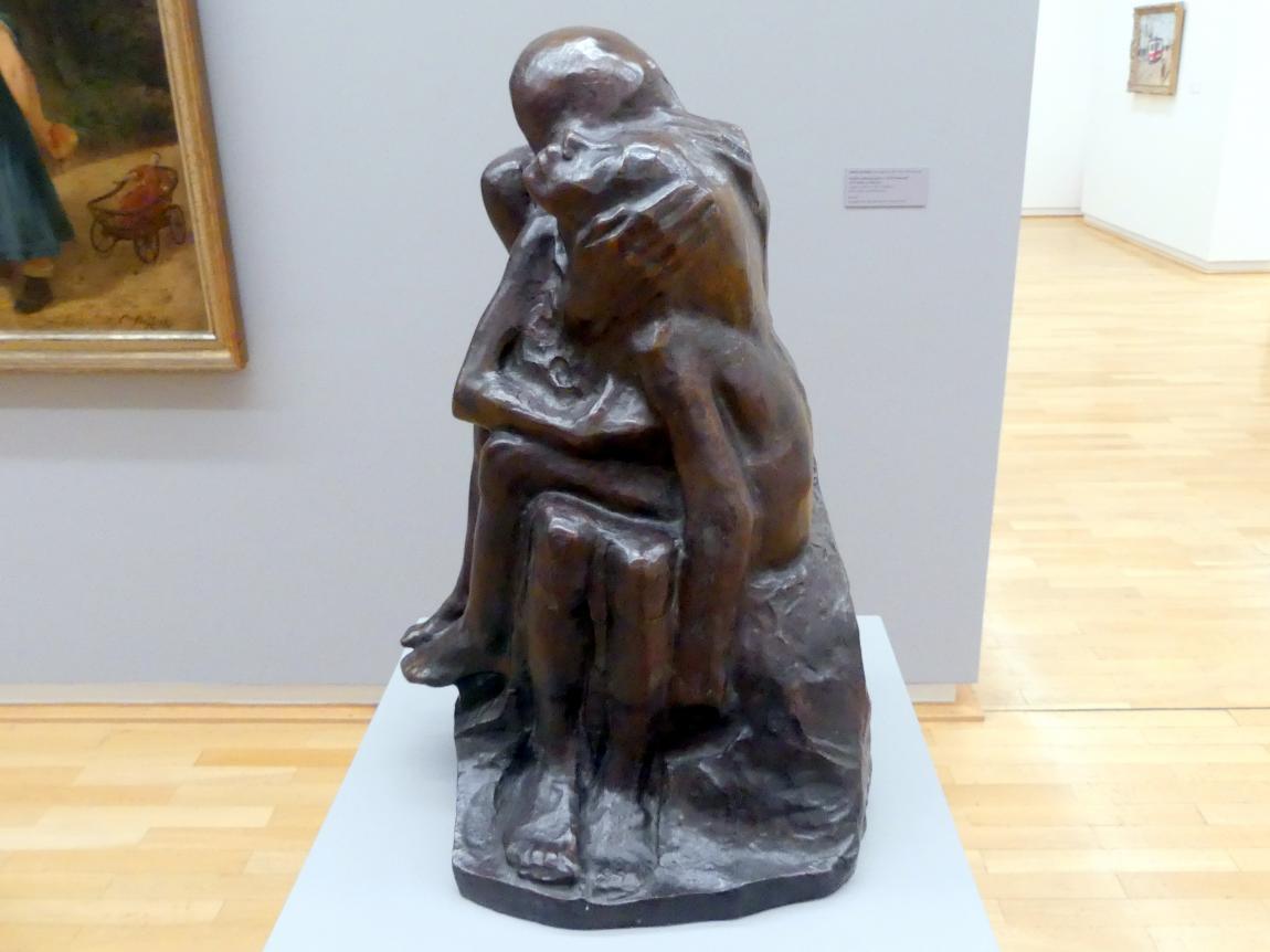 Käthe Kollwitz: Große Liebesgruppe II, 1913