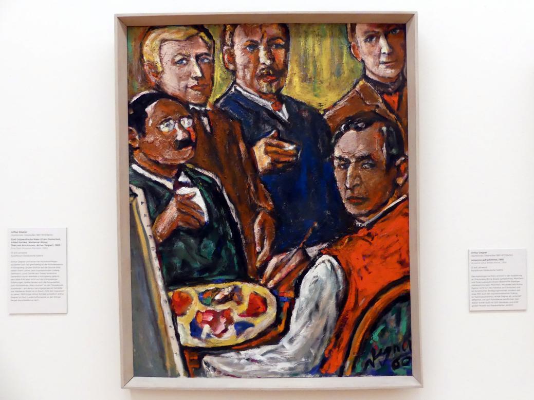 Arthur Degner: Fünf Ostpreußische Maler (Franz Domscheit, Alfred Partikel, Waldemar Rösler, Theo von Brockhusen, Arthur Degner), 1960