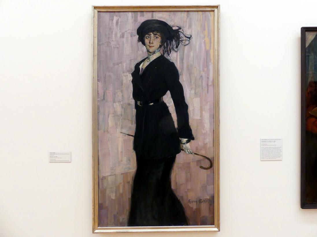 Harry Schultz: Pariserin, vor 1914